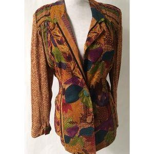 Brown Vintage Blazer Size 10